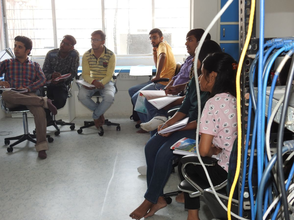 Training session of CCNP